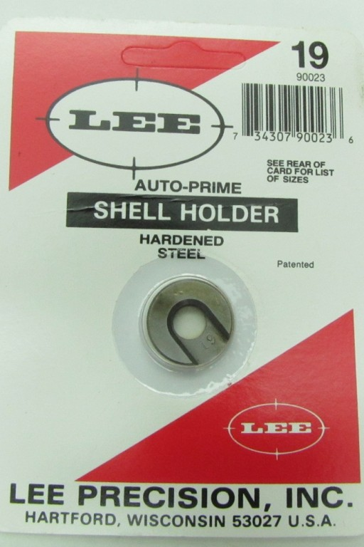 Lee Shell Holder Nr. 19 Per Innescatore Manuale