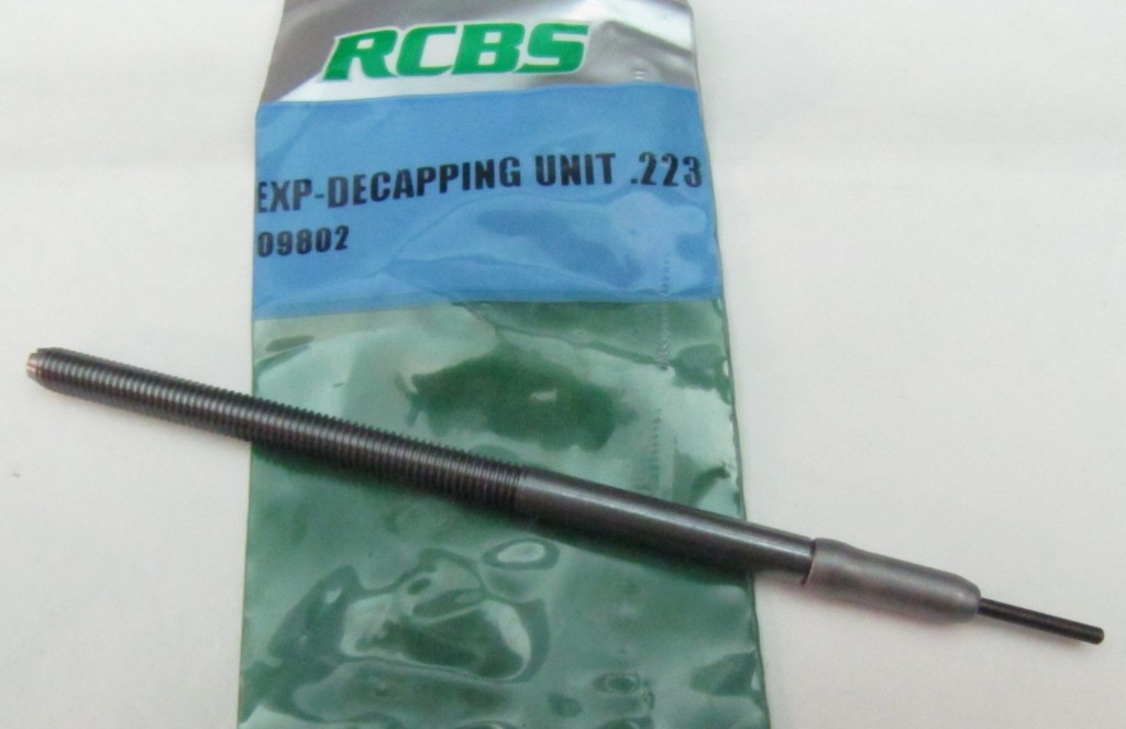 Rcbs 09802 Exp.decapping Unit .223 / Alberino Completo